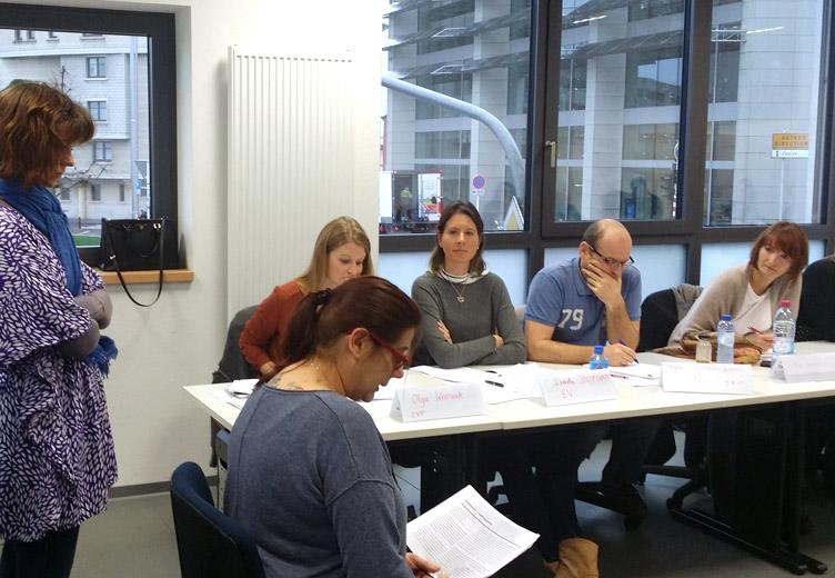 Foto von Teilnehmern des Seminars