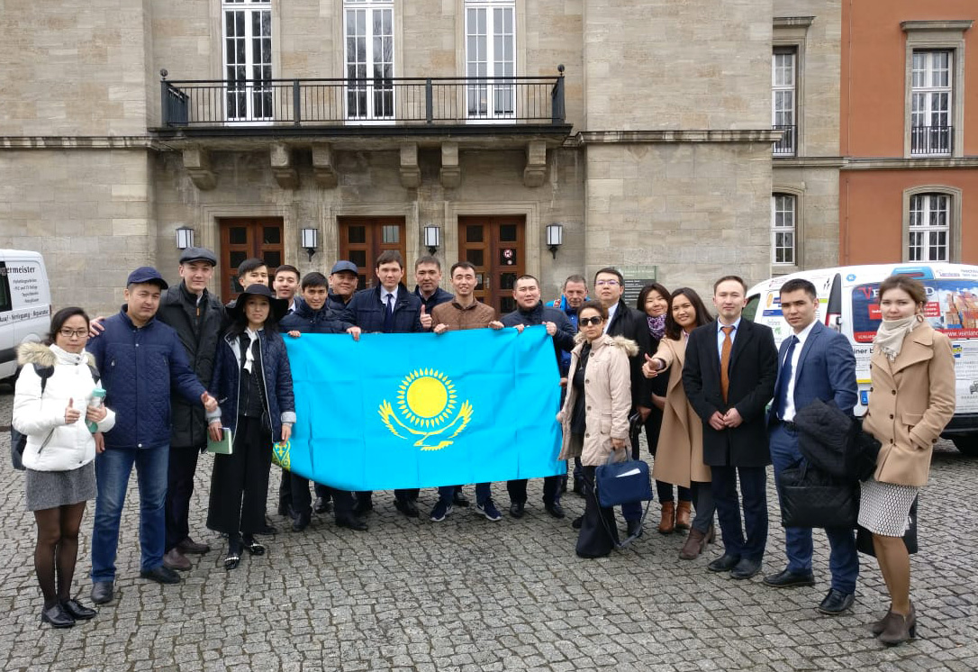 Photo: Delegates from the Republic of Kazakhstan in Germany