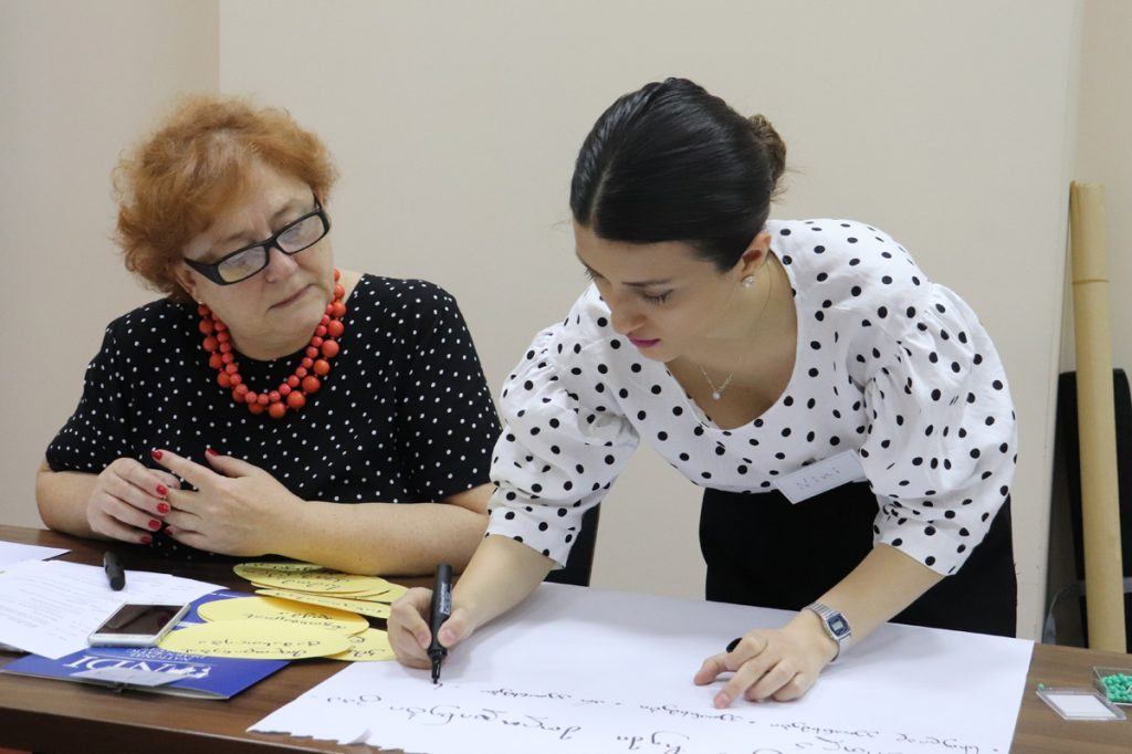 Training for Management Trainers in Lopota