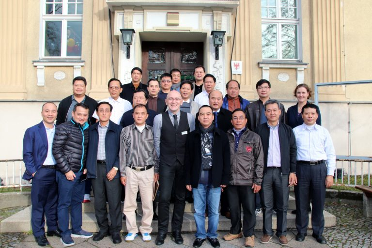 Photo: Delegates from Government Inspectorate of Vietnam with Dr. Harald Sempf, Local government of Falkensee