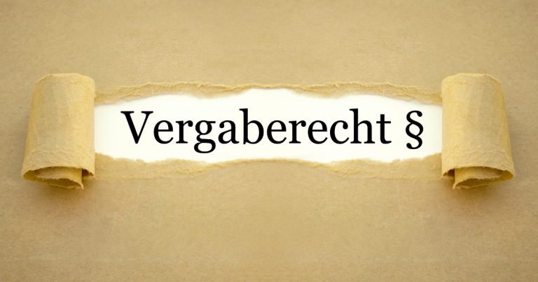 Text: Vergaberecht