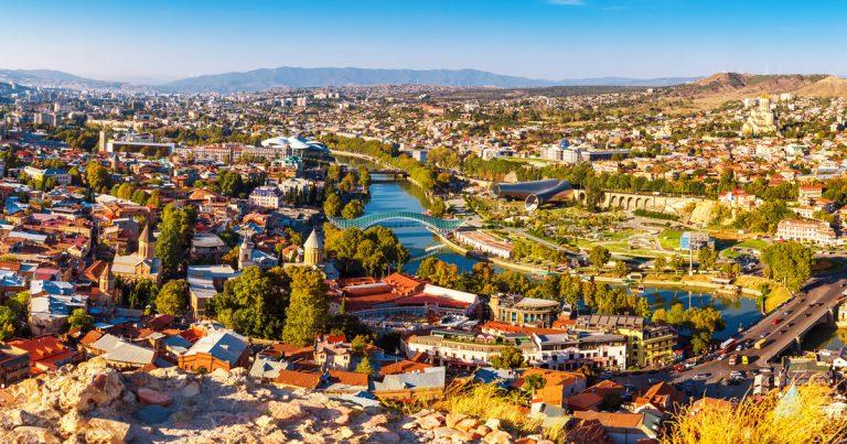 Foto: Blick auf Tiflis