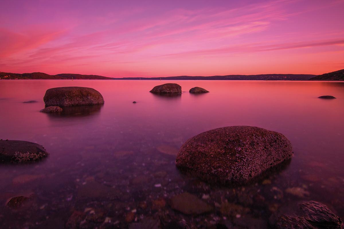 Foto: Bucht bei Oslo